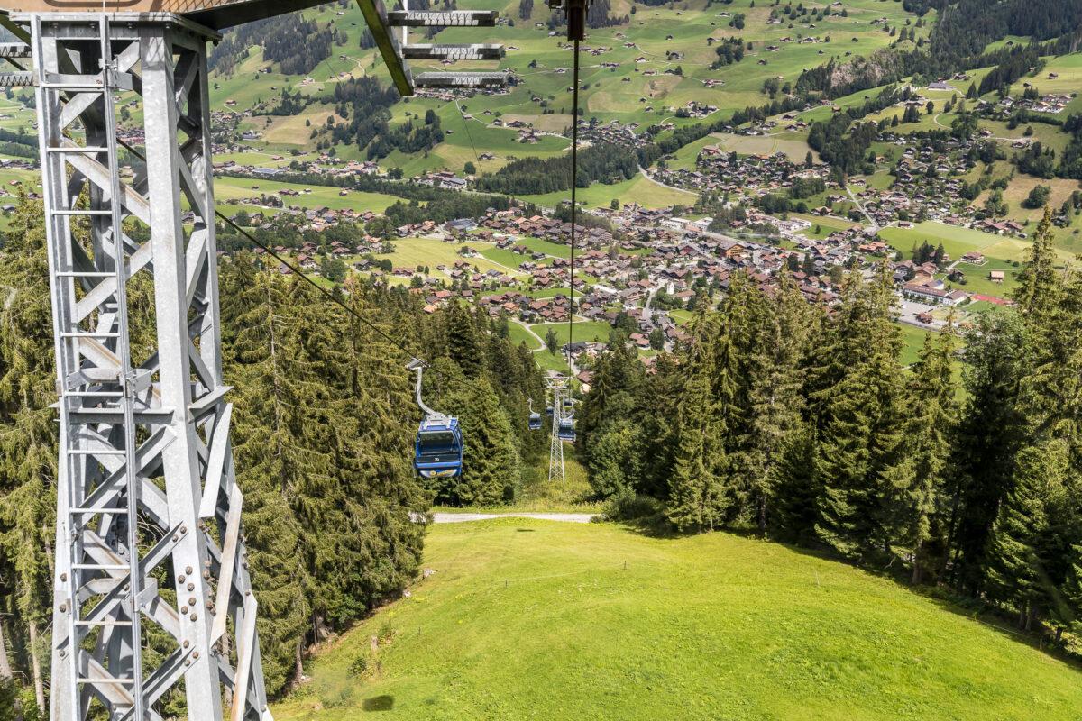 Bergbahnen Lenk Stoss Leiterli