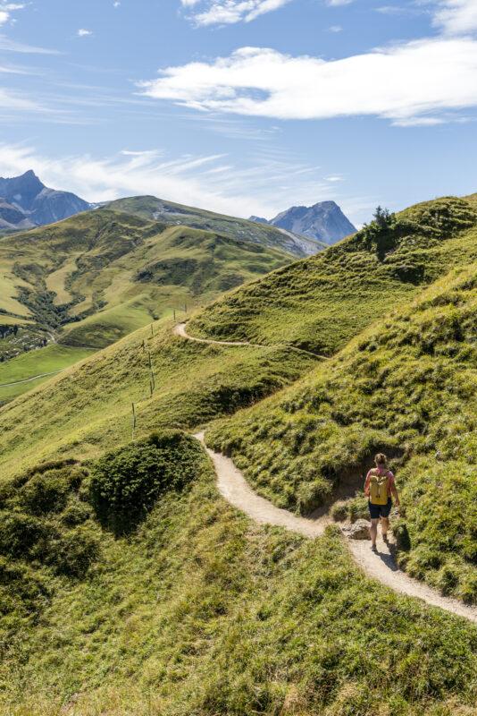 Wanderung Höhenweg Gryden