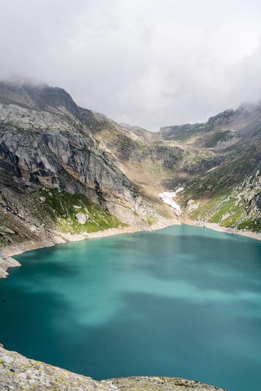 Stausee Lago dei Cavagnöö
