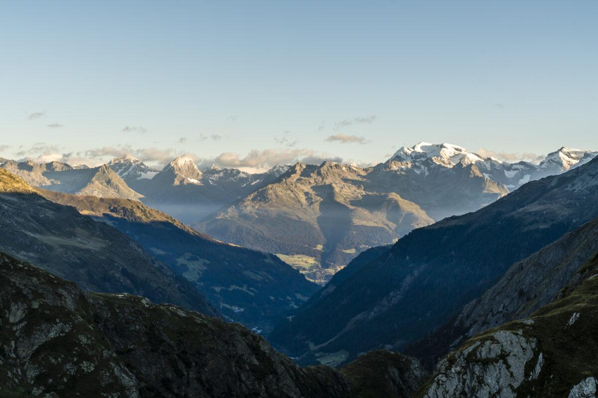 Terrihütte Bergblick