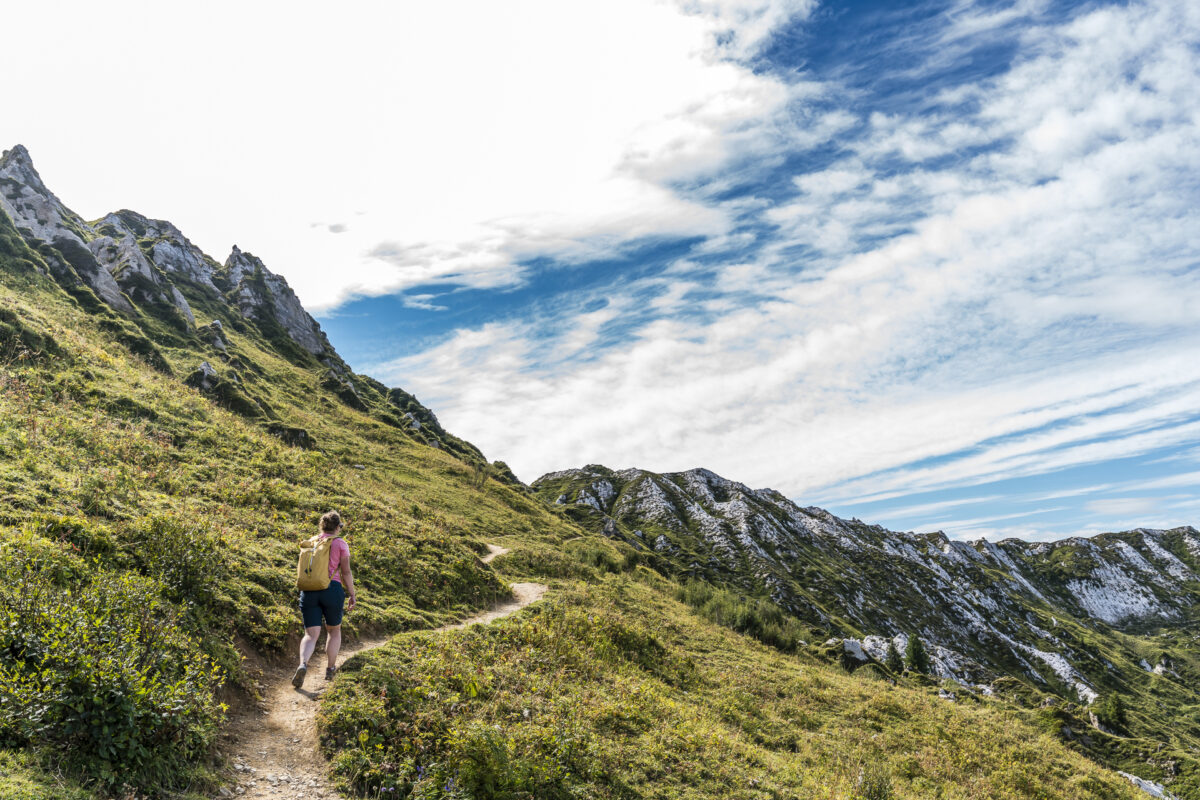 Höhenweg Gryden Leiterli Lenk
