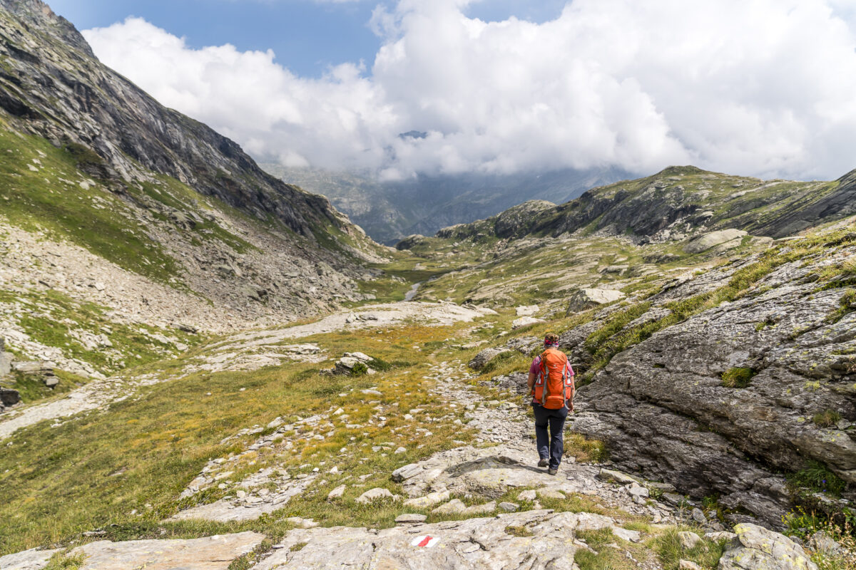 Wandern Robiei Tessin