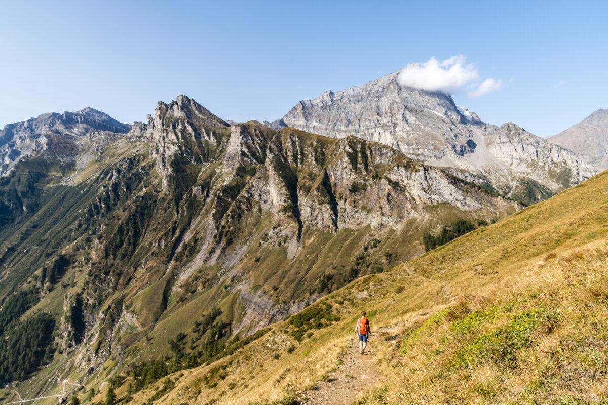 Wanderung Ciamporino Alpe Veglia