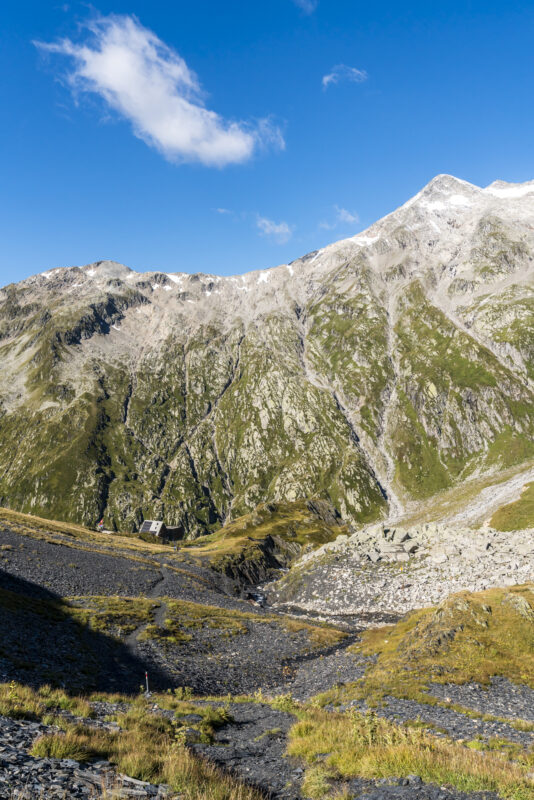 Scalettahütte Greina