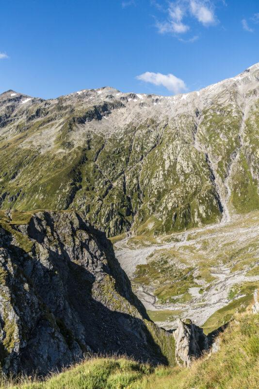 Abstieg Scaletta nach Campo Blenio