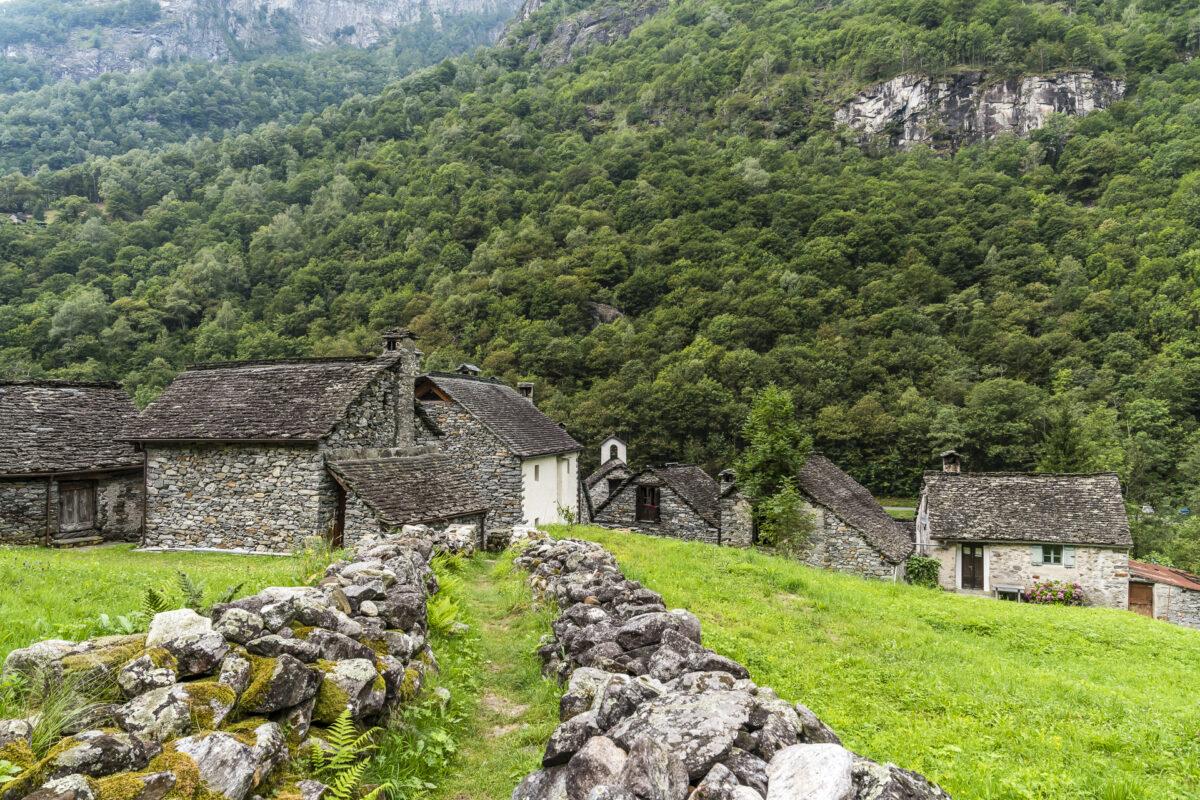 Wanderwege im Val Bavona