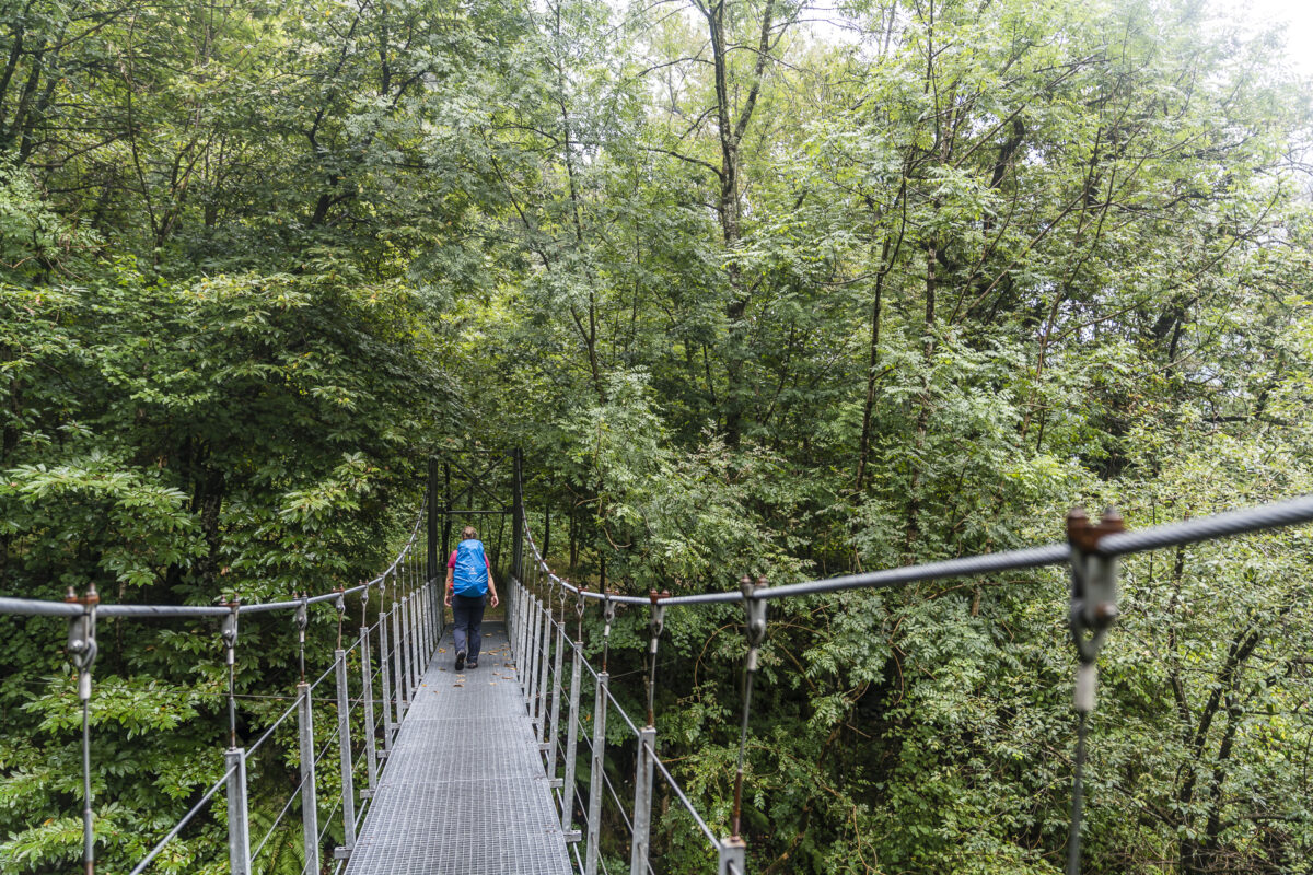 Hängebrücke Val Bavona