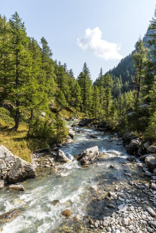 Fluss Alpe Veglia