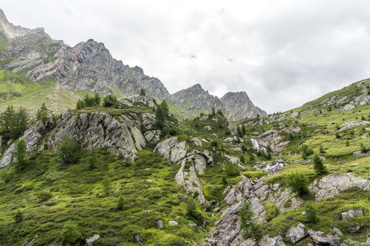 Airolo-Capanna Cristallina Wanderung