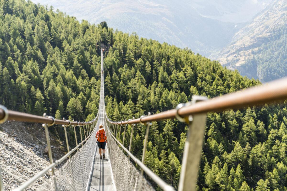 Europaweg Hängebrücke