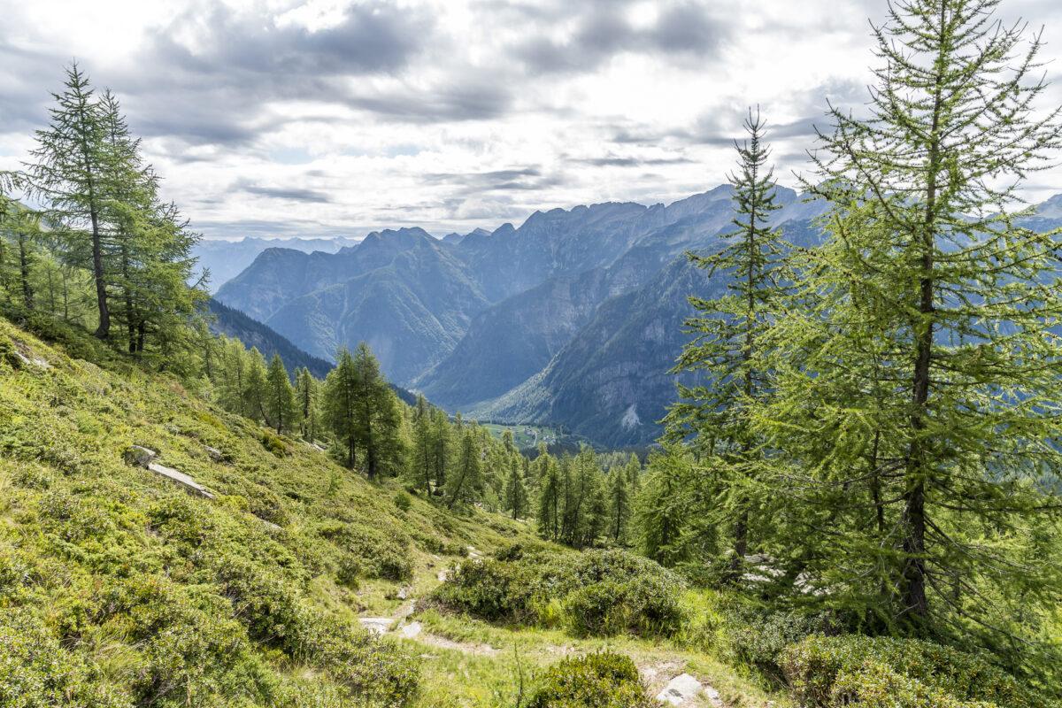 Aufstieg zum Passo Quadrello