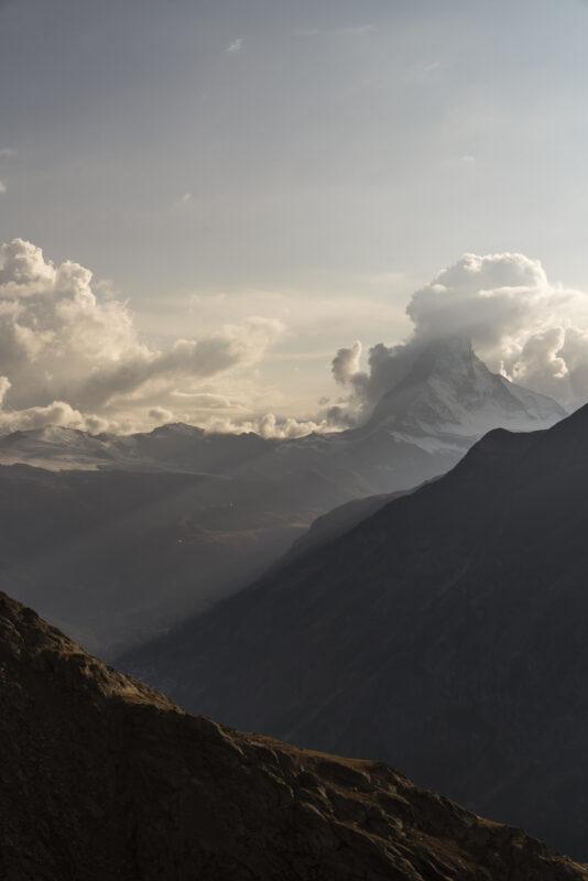 Matterhorn Abendstimmung