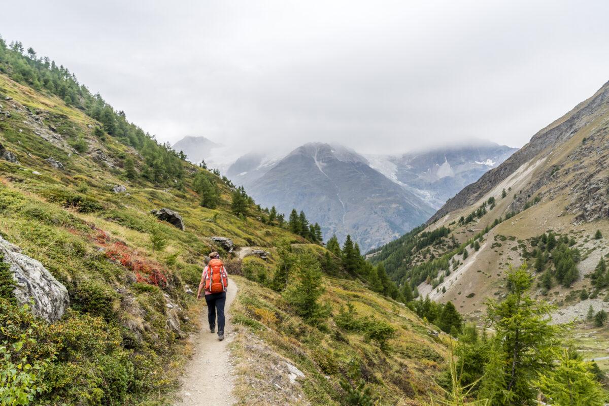 Täschalp Zermatt Wanderweg