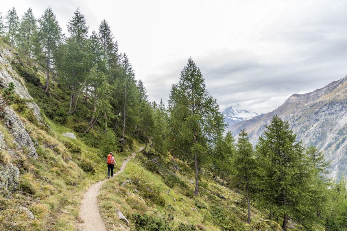 Wanderwege in Zermatt