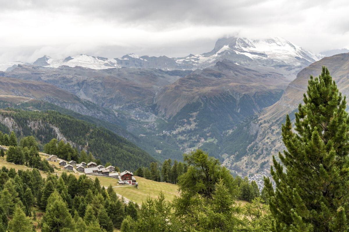 Weiler Tuftra bei Zermatt