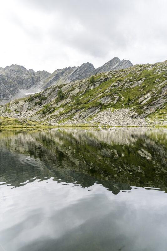 Spieglung am Lago Gelato