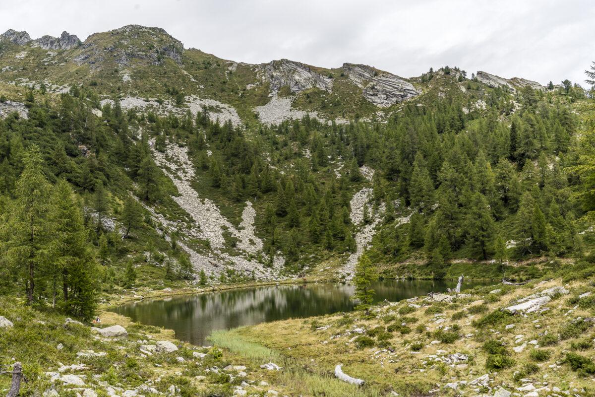 Lago dei Pozzöi Maggiatal