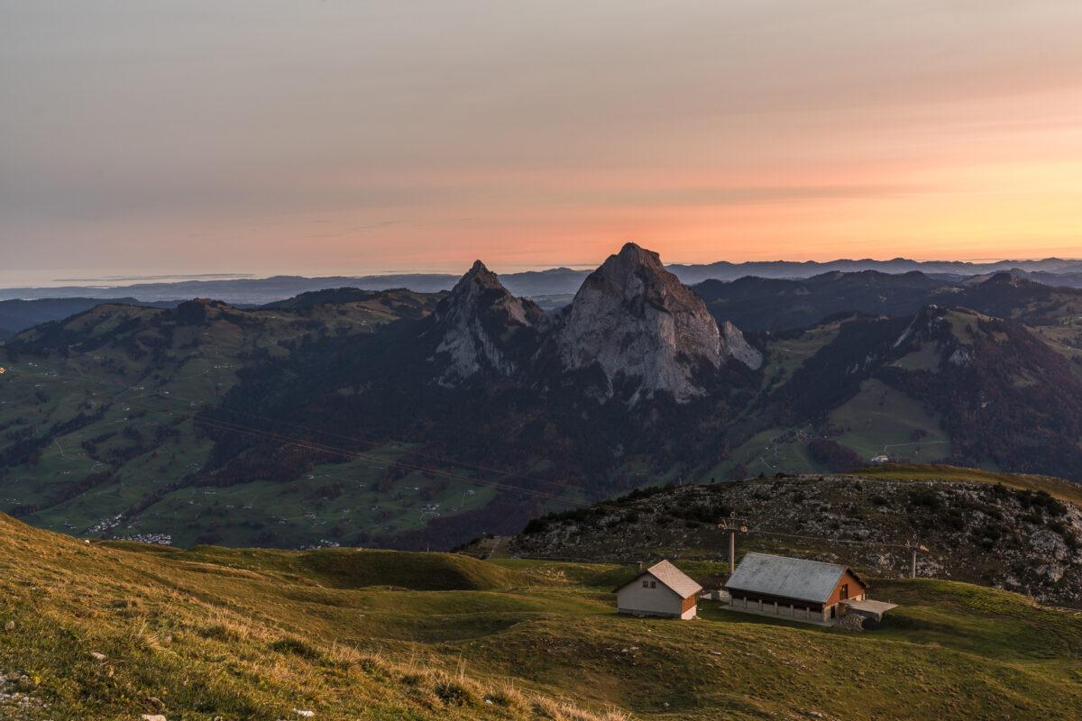 Fronalpstock Panorama Mythen