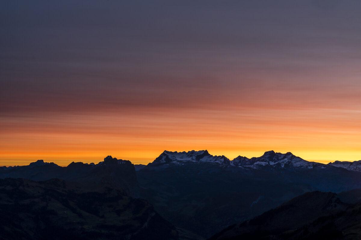 Morgenstimmung Zentralschweiz