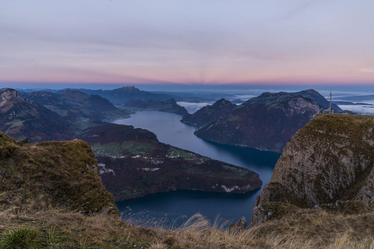 Fronalpstock Sonnenaufgang
