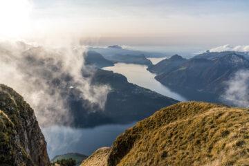 Fronalpstock: Eine Nacht auf dem top Aussichtsberg der Zentralschweiz