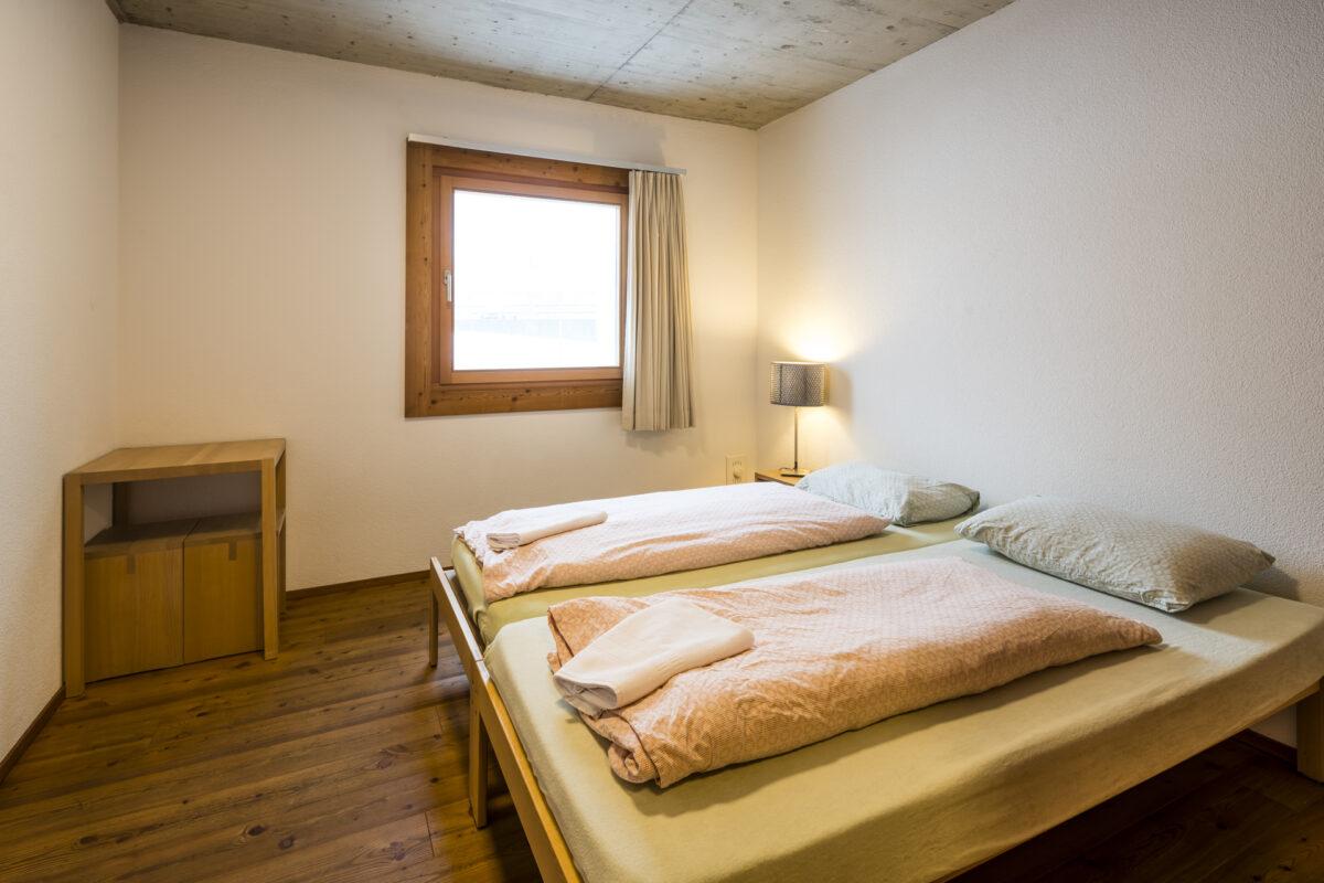 Jugendherberge Scuol Zimmer