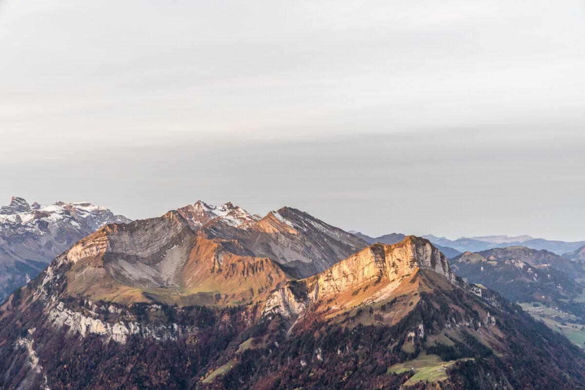 Panorama Fronalpstock Morgen