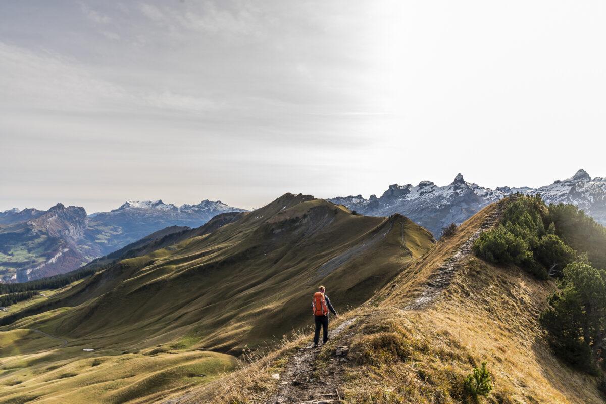 Panorama Gratwanderung Klingenstock