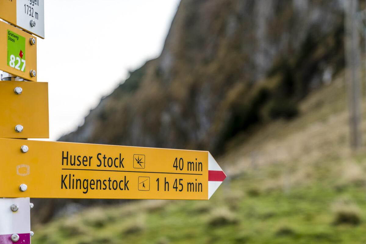 Wanderwege Fronalpstock
