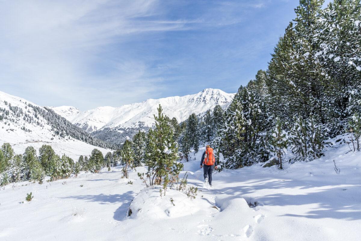 Winterwanderung im God da Tamangur