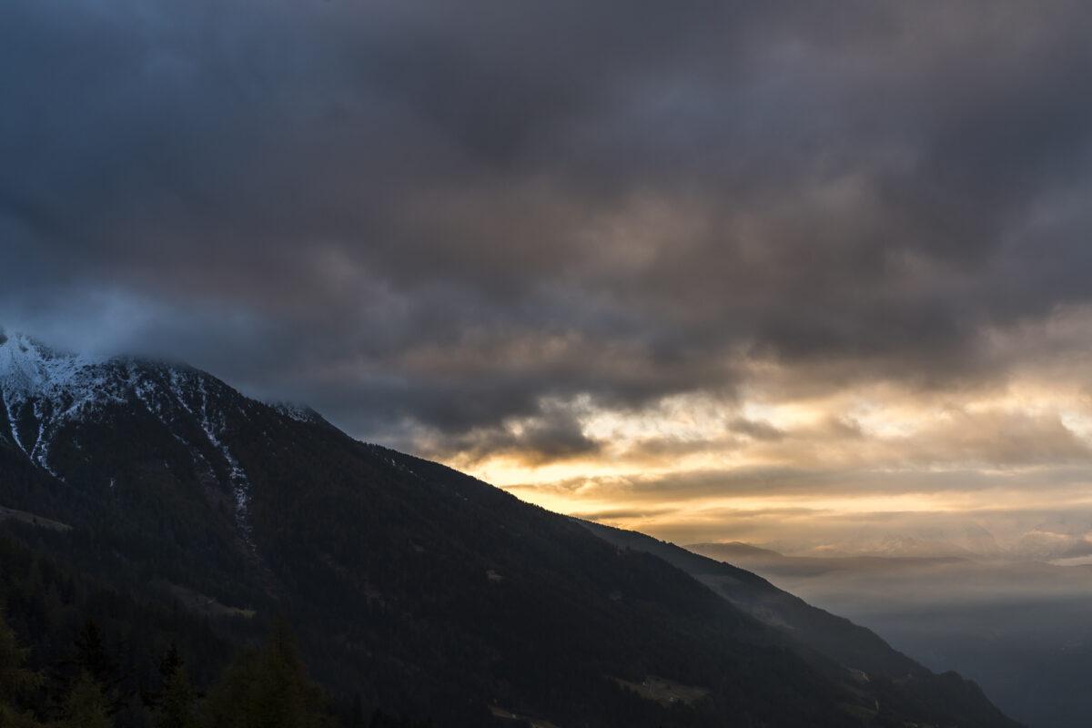 Sonnenaufgang Puchlav