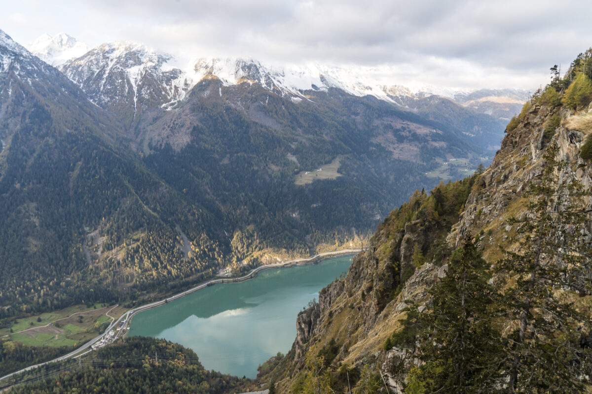 Lago di Poschiavo Panorama