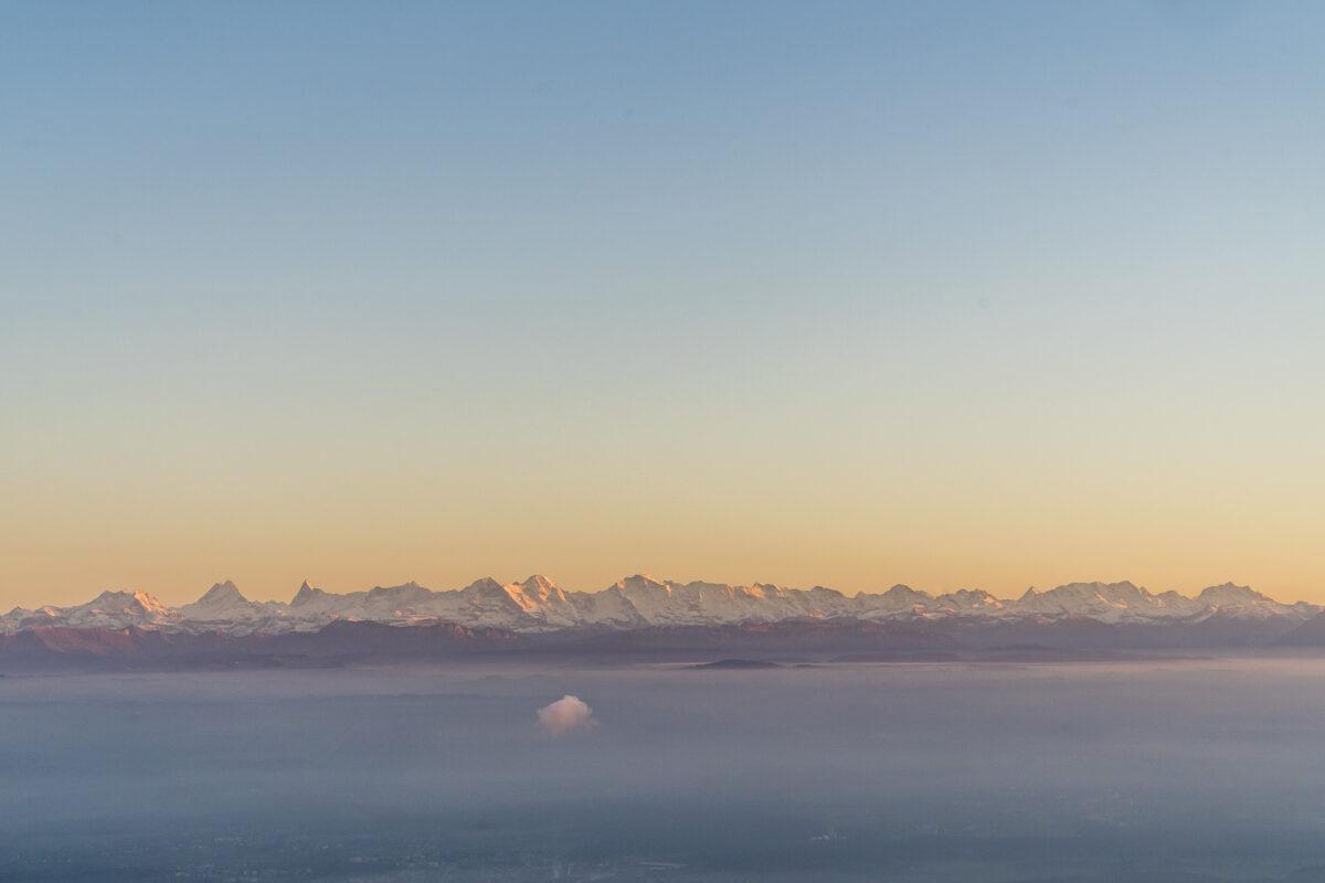 Nebelmeer Mittelland