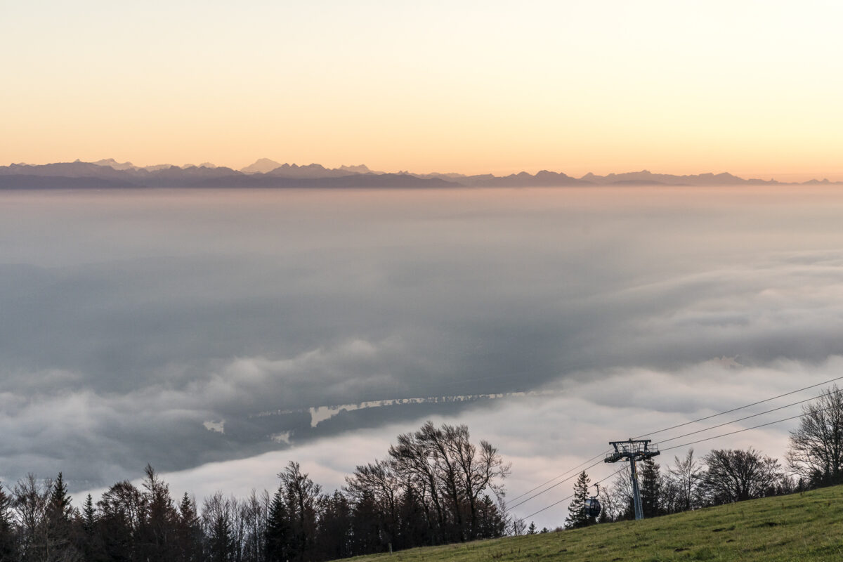 Nebelmeer über Solothurn