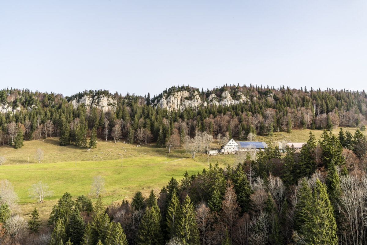 Panorama Jura Höhenweg