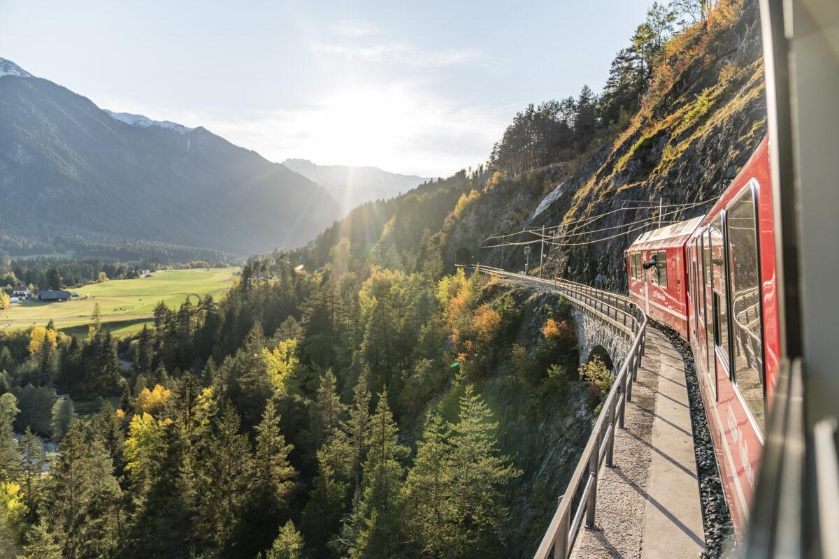Rhätische Bahn Landwasserviadukt