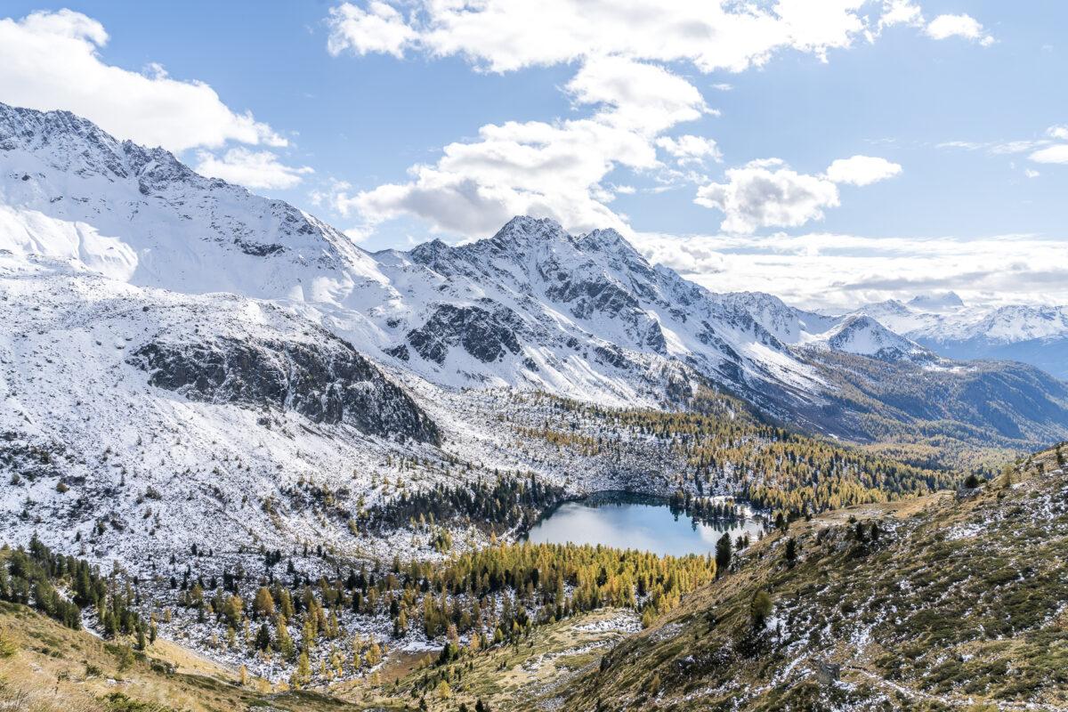 Panorama Lagh da Val Viola
