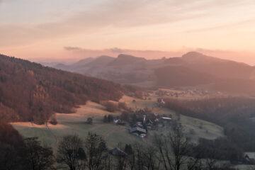 Belchenflue & Tüfelsschlucht: zwei lohnende Wanderziele im Mittelland