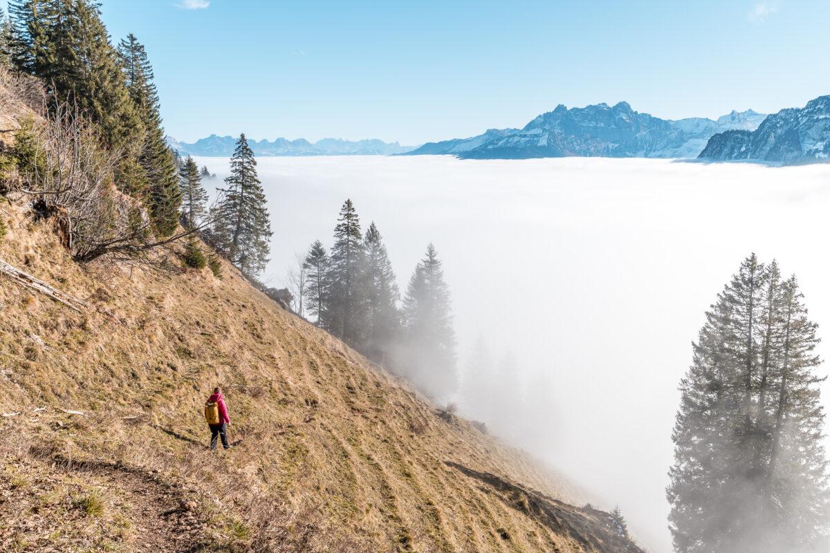 Nebelgrenze im Glarnerland