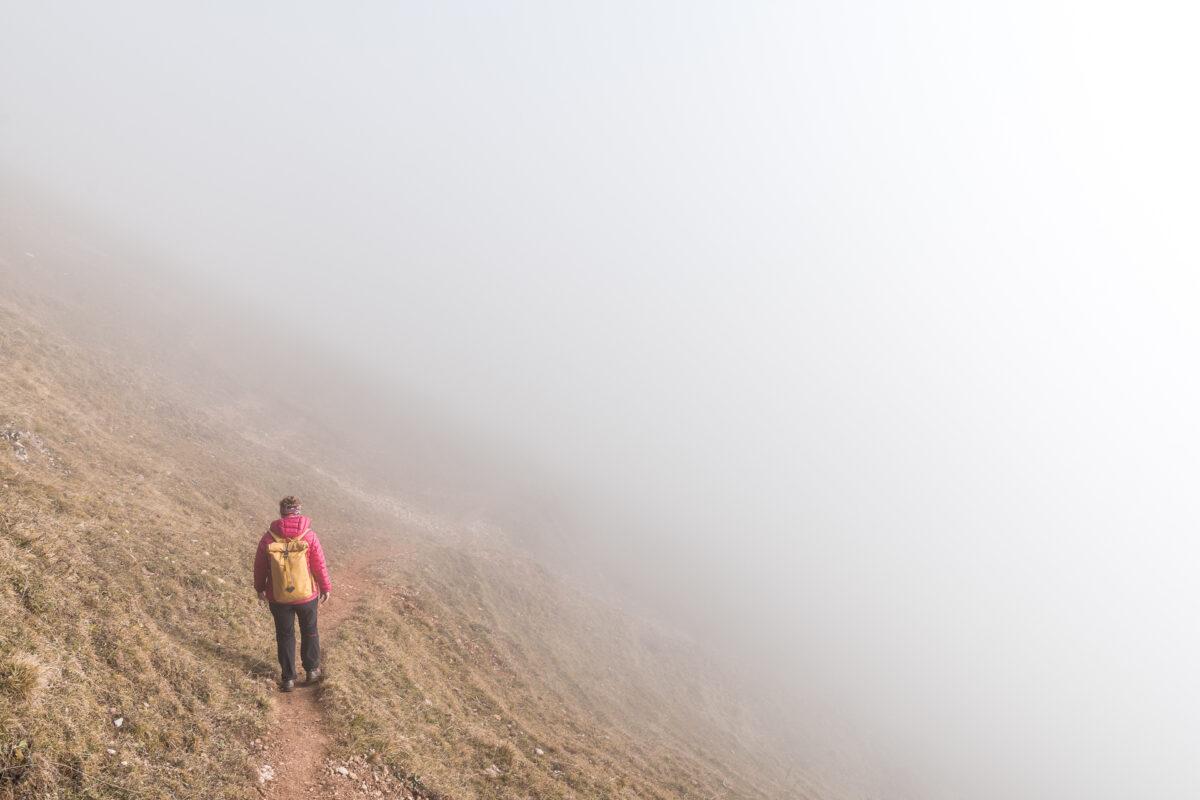 Wandern in der Nebelsuppe
