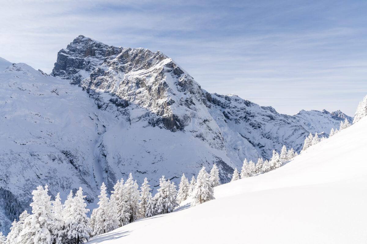 Engelberg Fürenalp Winter