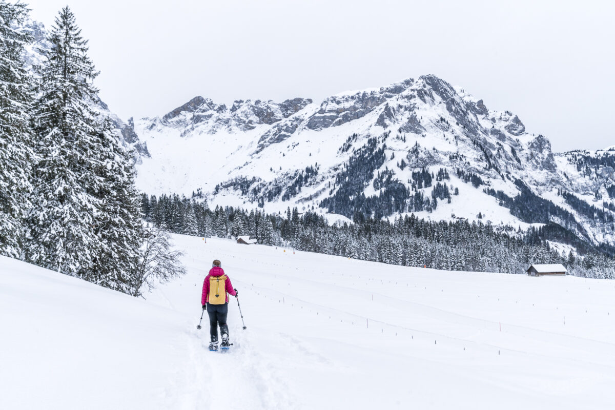 Gerschnialp Schneeschuhwandern