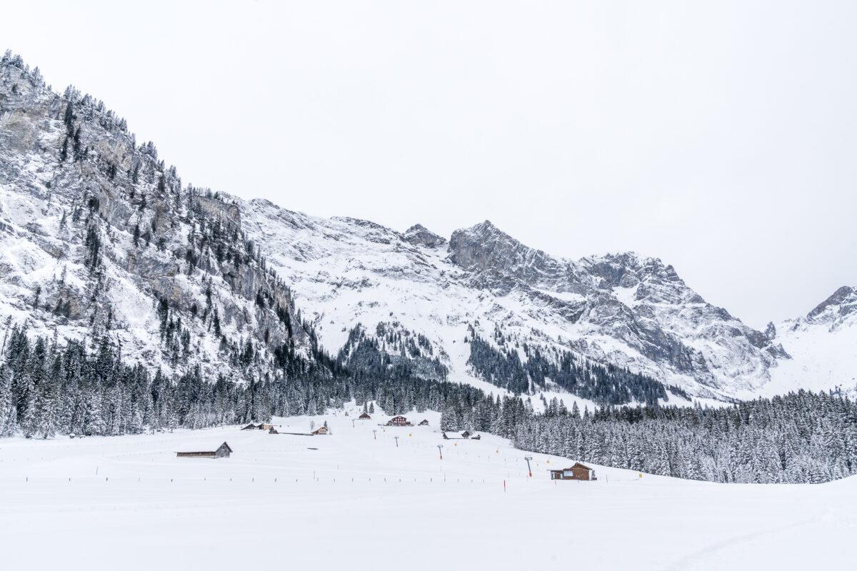 Winter Gerschnialp