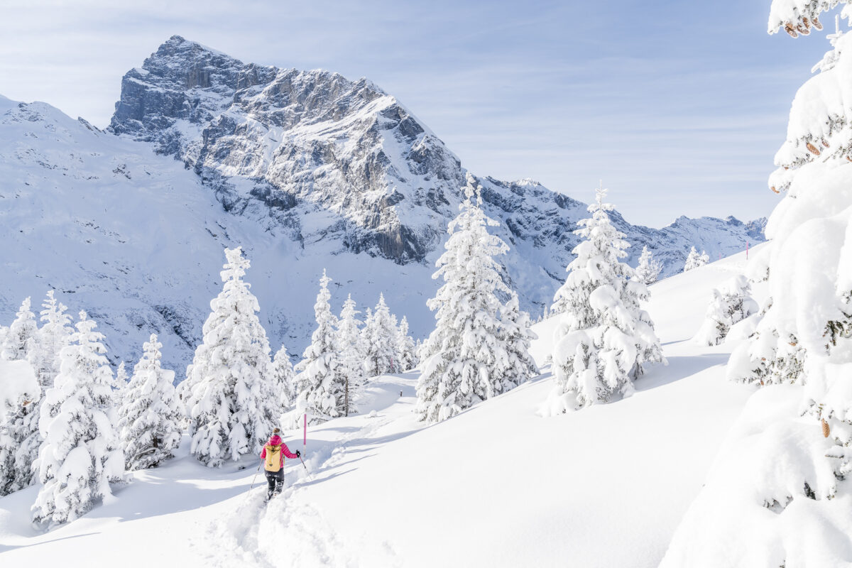 Engelberg Schneeschuhwandern
