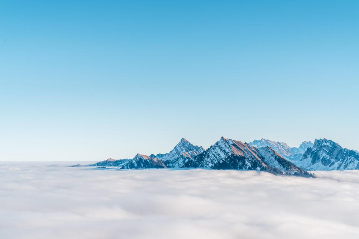 Nebelmeer Sarganserland