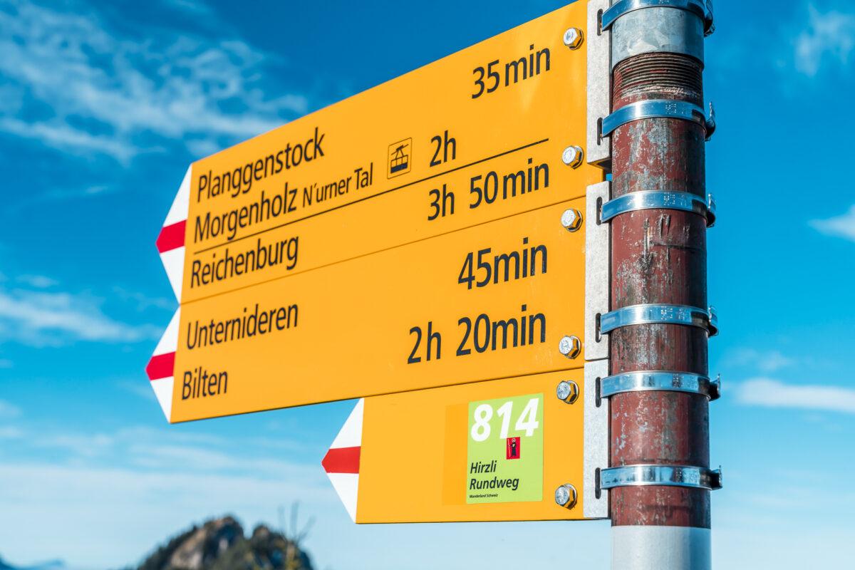 Wanderweg Planggenstock