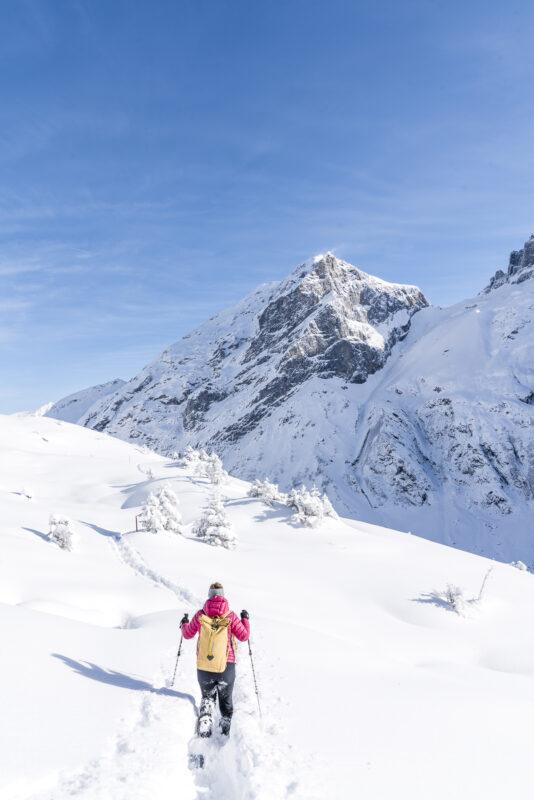 Schneeschuhtour auf der Fürenalp