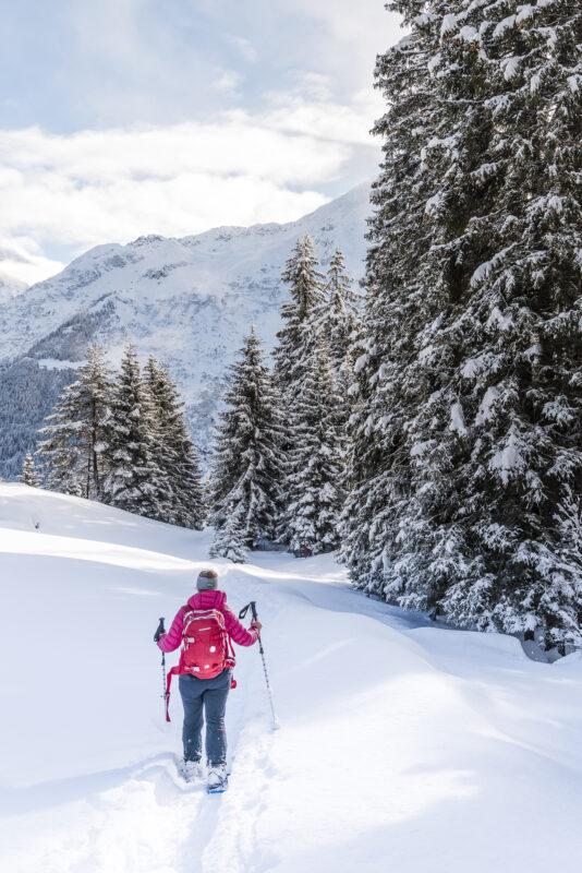 Arnisee Trail Schneeschuhwanderung