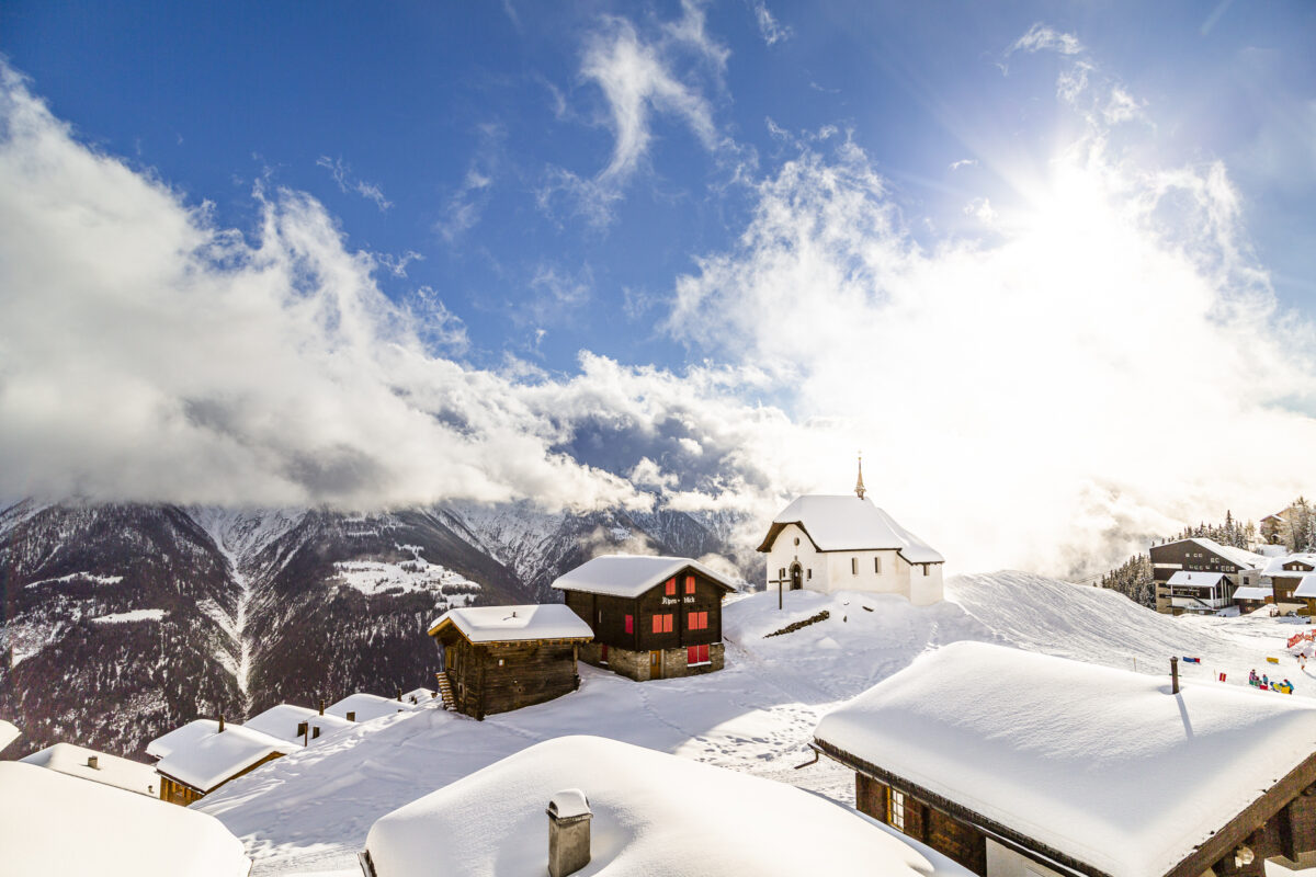 Bettmeralp im Winter