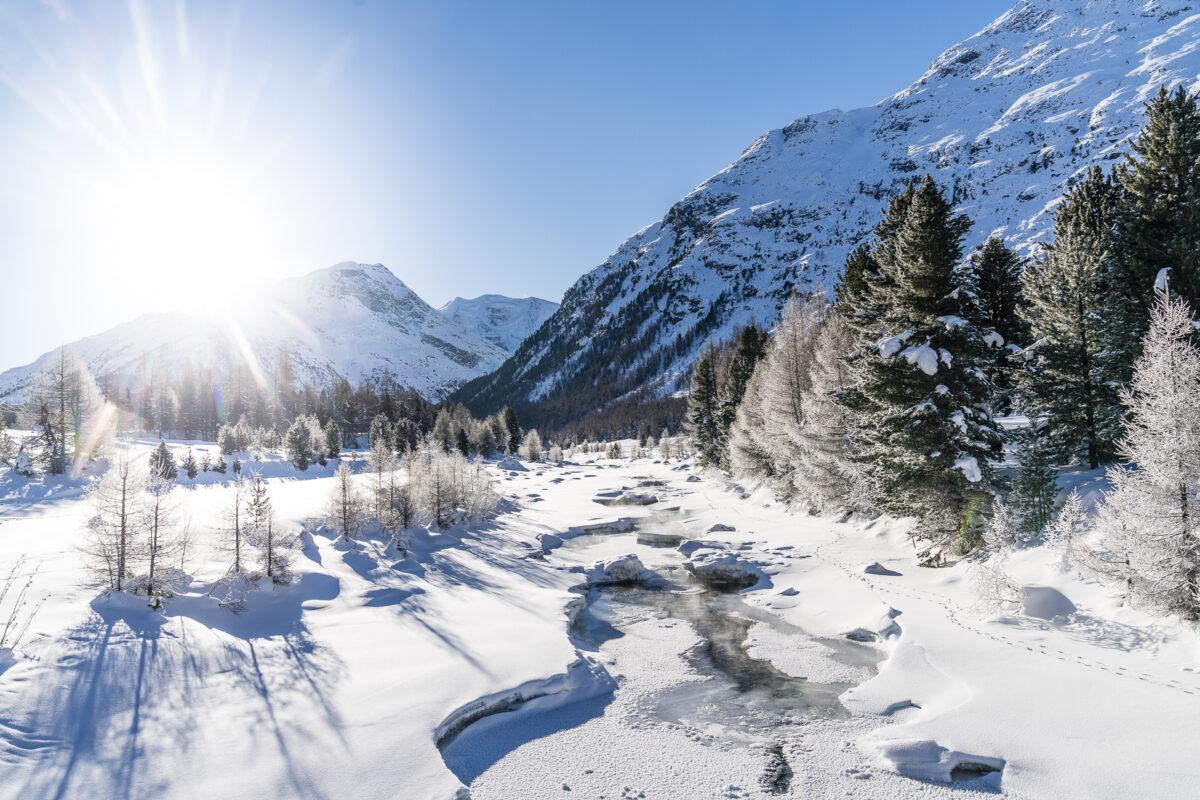 Engadin im Winter